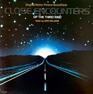 John Williams ‎- Close Encounters Of The Third Kind: Original Soundtrack (LP) (EX/VG-EX)