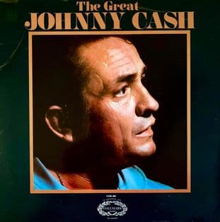Johnny Cash - The Great Johnny Cash (LP) (G/G+)