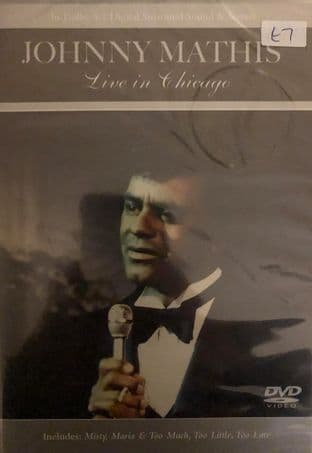 Johnny Mathis - Live In Chicago (DVD)