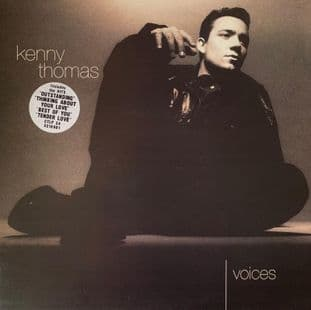 Kenny Thomas ‎- Voices (LP) (VG-/VG-)