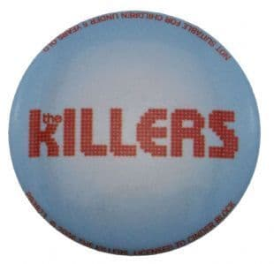 Killers (The) - Band Logo (25mm Button Badge)