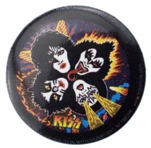Kiss - Rock And Roll Over (25mm Button Badge)