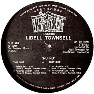 """Lidell Townsell - Nu Nu (12"""") (G-VG/VG-)"""