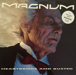 "Magnum - Heartbroke And Busted (12"") (EX/VG)"