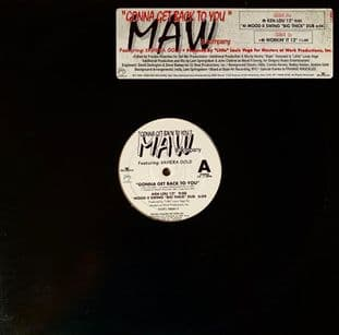 """MAW & Company ft Xaviera Gold - Gonna Get Back To You (12"""") (G-VG/G-VG)"""