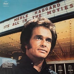 Merle Haggard ‎- It's All In The Movies (LP) (EX-/EX-)