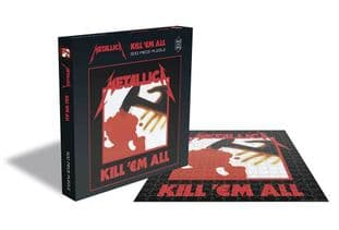 METALLICA - KILL EM ALL (500 PIECE JIGSAW PUZZLE)  (JS032)