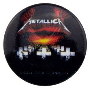 Metallica - Master Of Puppets (25mm Button Badge)