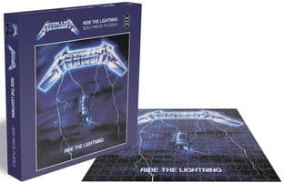 METALLICA - RIDE THE LIGHTNING (500 PIECE JIGSAW PUZZLE)  (JS033)