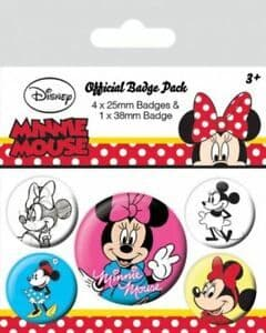 Minnie Mouse - Badge Pack