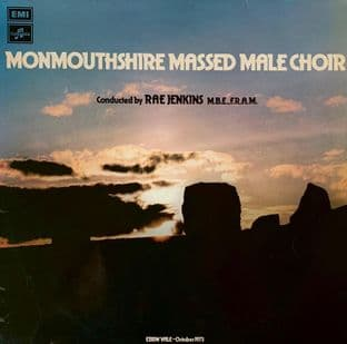 Monmouthshire Massed Male Choir - Monmouthshire Massed Male Choir (LP) (VG-/G++)
