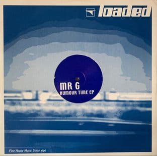 """Mr. G - Humour Time EP (12"""") (G-VG/VG-)"""
