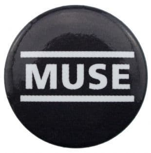 Muse - Classic Logo (25mm Button Badge)