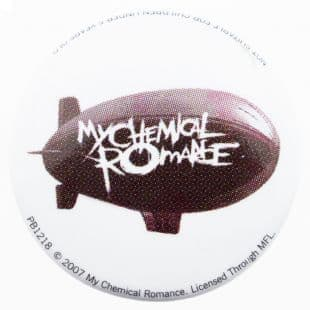 My Chemical Romance - Airship Logo (25mm Button Badge)