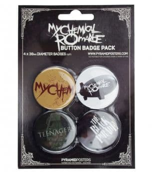 My Chemical Romance - Official Button Badge Pack