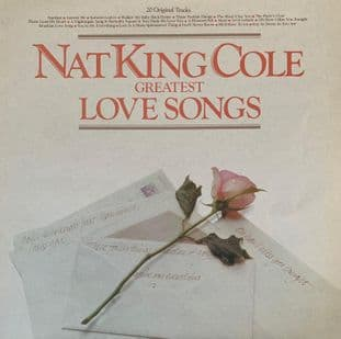 """Nat """"King"""" Cole - 20 Greatest Love Songs (LP) (G++/G++)"""