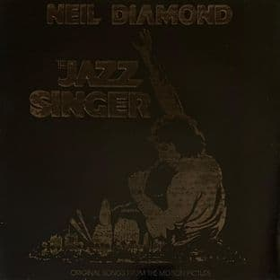 Neil Diamond - The Jazz Singer: Songs From The Motion Picture (LP) (G-VG/G+)