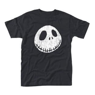 Nightmare Before Christmas - Jack Face T-shirt (Large)