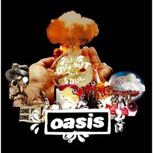 Oasis - Greetings Card