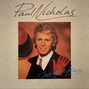 Paul Nicholas ‎- Just Good Friends (LP) (EX/VG-)