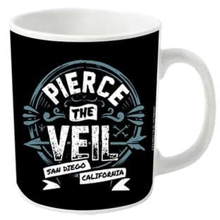 Pierce The Veil: San Diego California - MUG (11oz) (Brand New In Box)