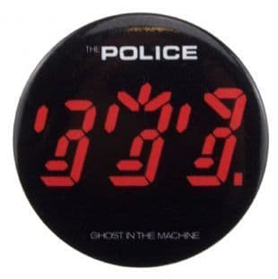 Police (The) - Ghost In The Machine (38mm Button Badge)