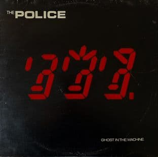 Police ‎(The) - Ghost In The Machine (LP) (G-VG/G+)
