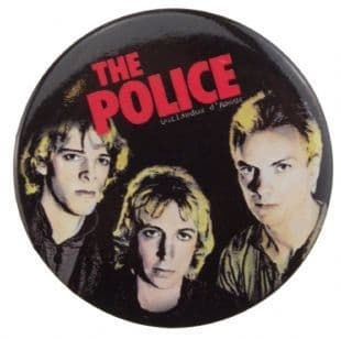Police (The) - Outlandos D'Amour (38mm Button Badge)