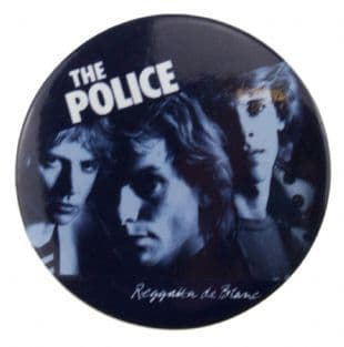 Police (The) - Reggatta De Blanc (38mm Button Badge)