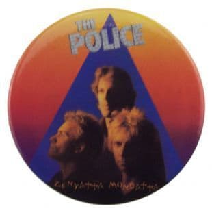 Police (The) - Zenyatta Mondatta (38mm Button Badge)