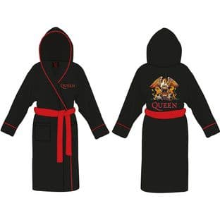 QUEEN UNISEX BATHROBE: CLASSIC CREST (Large-X Large) (BRB011) (New/Sld)