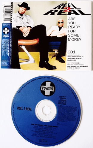 Reel 2 Real - Are You Ready For Some More? (CD Single Pt 1) (VG/EX)