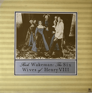 Rick Wakeman ‎- The Six Wives Of Henry VIII (LP) (EX-/G++)