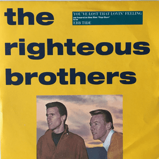 "Righteous Brothers (The) ‎- You've Lost That Lovin' Feeling (7"") (EX/VG+)"