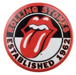 Rolling Stones (The) - Established 1962 (38mm Button Badge)