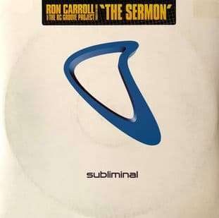 "Ron Carroll Presents The RC Groove Project ‎- The Sermon (12"") (G-VG/G-VG)"