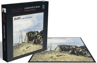 RUSH - A FAREWELL TO KINGS (500 PIECE JIGSAW PUZZLE)  (JS029)