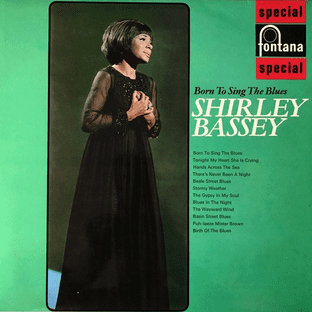 Shirley Bassey - Born To Sing The Blues (LP) (EX-/EX)