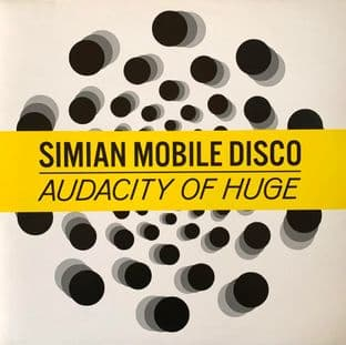 "Simian Mobile Disco ‎- Audacity Of Huge (SMD Space Cave Version) (12"") (EX/EX)"