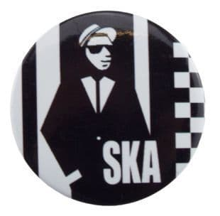 SKA - Rudeboy (38mm Button Badge)