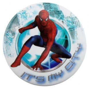 Spider-Man - It's My City (38mm Button Badge)