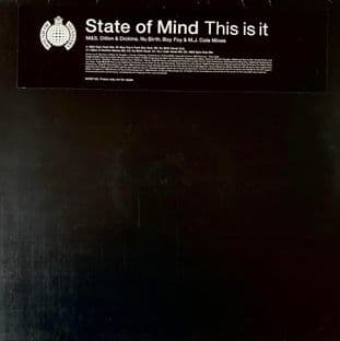 "State Of Mind - This Is It (12"") (Promo) (EX-/VG)"