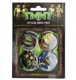 Teenage Mutant Ninja Turtles - Official Button Badge Pack