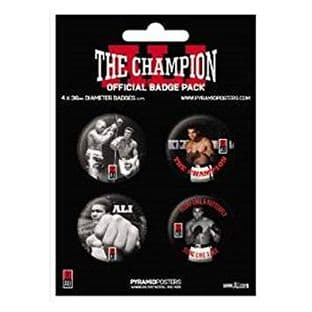 The Champion - 4 Badge Pack