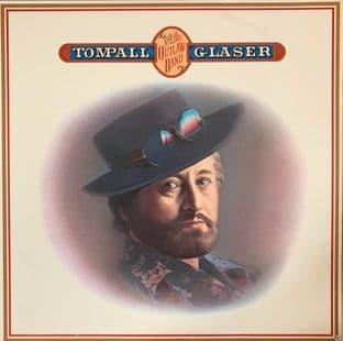 Tompall Glaser ‎- Tompall And His Outlaw Band (LP) (EX-/G-VG)