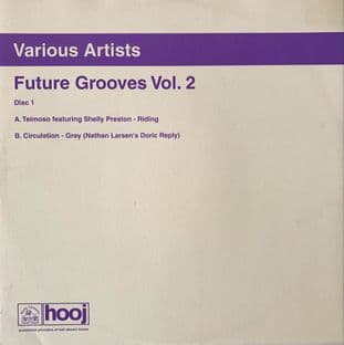 "V/A ‎– Future Grooves Vol. 2 EP (Disc 1) (12"") (EX-/VG-)"