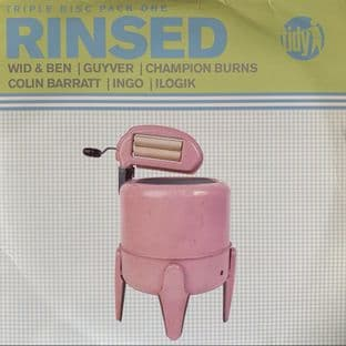 "V/A ‎- Rinsed Triple Disc Pack One EP (12"") (VG-/G++)"