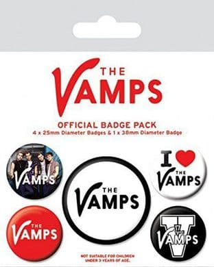 Vamps (The) - Badge Pack