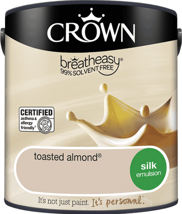 Crown Toasted Almond Silk emulsion 2.5L