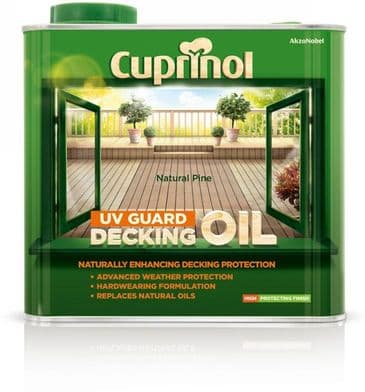 Cuprinol 2.5L Natural Pine decking oil